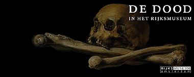 Expositie 'De dood' in het Rijksmuseum.